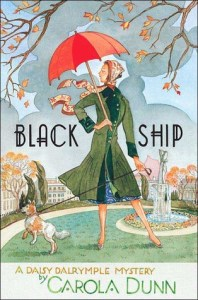 Cover of Black Ship by Carola Dunn.