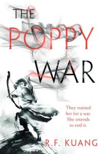 Cover of The Poppy War by R.F. Kuang.