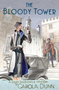 Cover of The Bloody Tower by Carola Dunn
