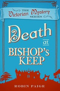 Cover of Death at Bishop's Keep by Robin Paige
