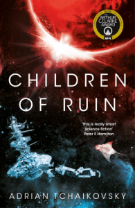 Cover of Children of Ruin by Adrian Tchaikovsky