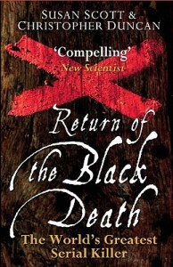 Cover of Return of the Black Death by Susan Scott and Christopher Duncan
