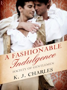 Cover of A Fashionable Indulgence by KJ Charles