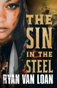 Cover of The Sin in the Steel by Ryan Van Loan