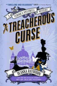 Cover of A Treacherous Curse by Deanna Raybourn