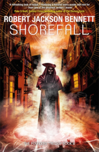 Cover of Shorefall by Robert Jackson Bennet