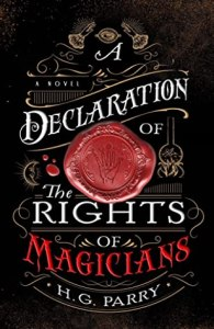 Cover of A Declaration of The Rights of Magicians by H. G. Parry