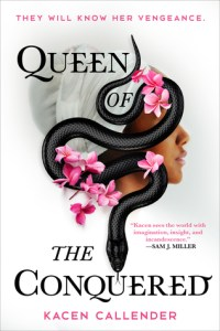 Cover of Queen of the Conquered by Kacen Callender