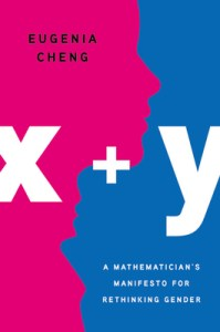 Cover of X+Y by Eugenia Cheng