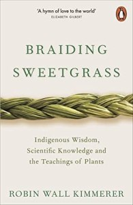 Cover of Braiding Sweetgrass by Robin Wall Kimmerer