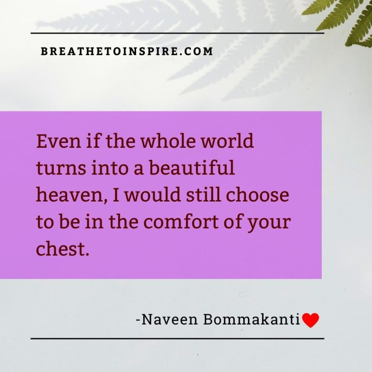 even if the world-love-quotes-naveen-bommakanti