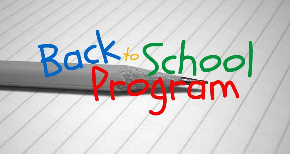Back to School Black and White Pencil Color Lettering