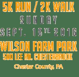 Orange Run 2016 Details