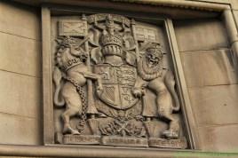 Royal Coat of Arms of the United Kingdom. Scotland Unicorn - Englands Lion