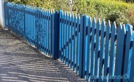 Blue Picket Fence Plockton
