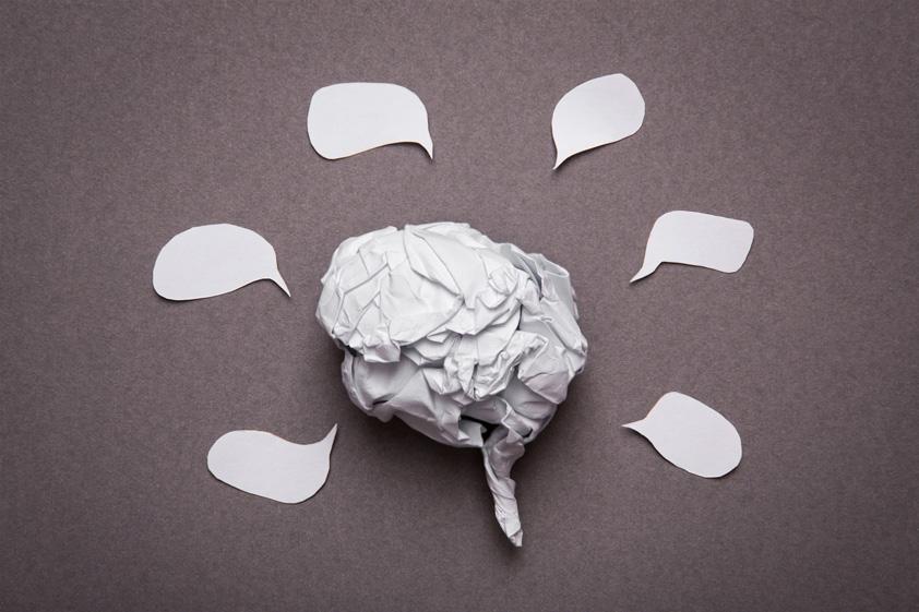 Medical-background-crumpled-paper-brain-shape