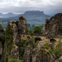Breathtaking Bastei Bridge Germany