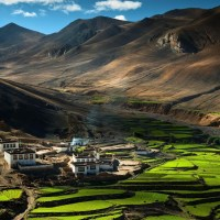 Breathtaking Tibet Landscape