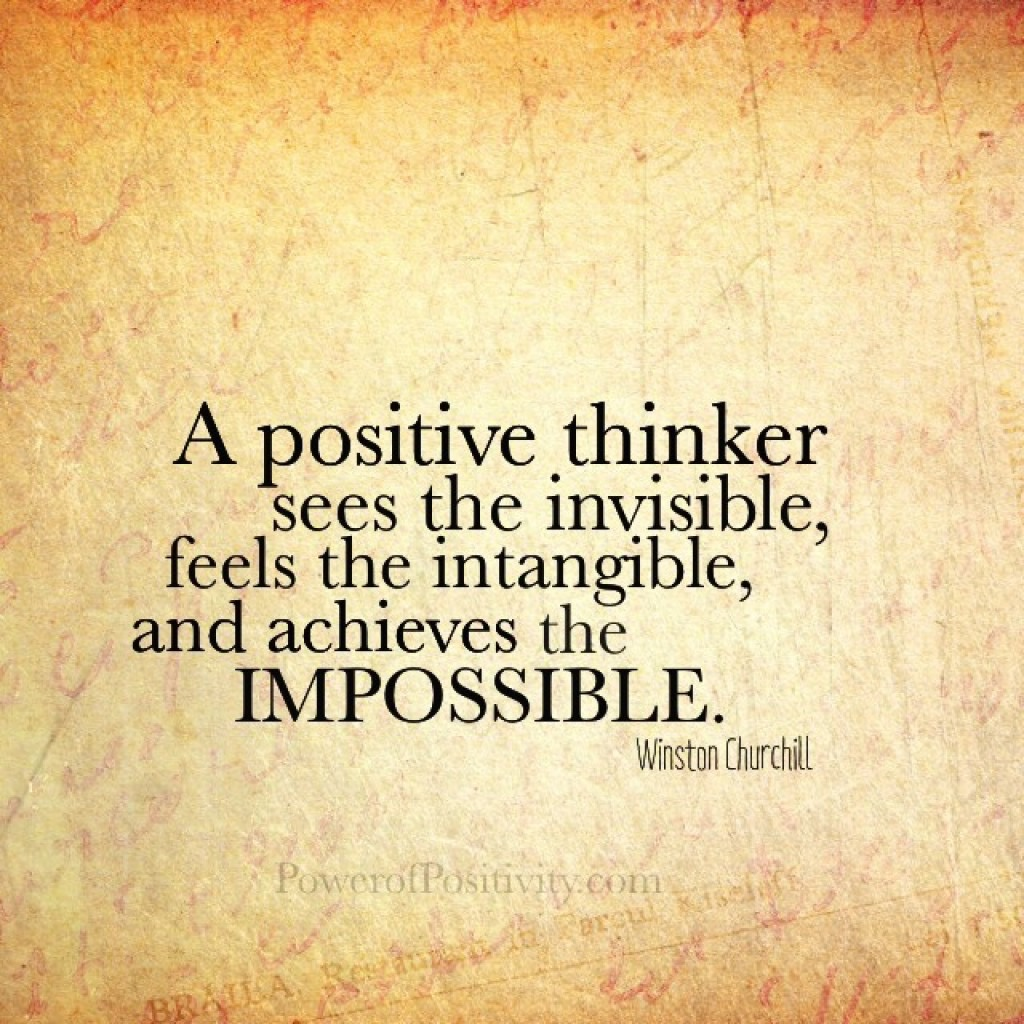 Passing Thoughts Positive Thinking Vs Negative Thinking