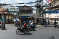 Ho Chi Minh City, power lines!