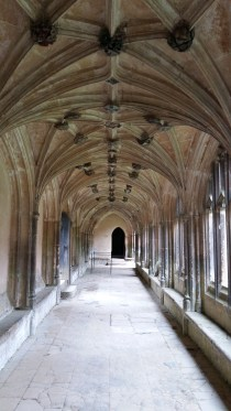 Cloisters at Lacock Abbey
