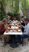 A Japanese meal in France