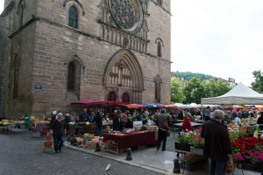Cahors Saturday market