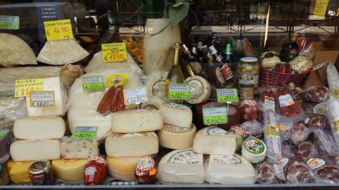 Just a small selection from the deli