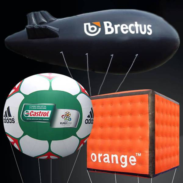 Brectus Custom Shaped Helium Balloons