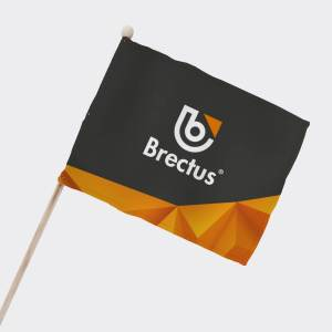 Brectus Balcony and Supporter Flag