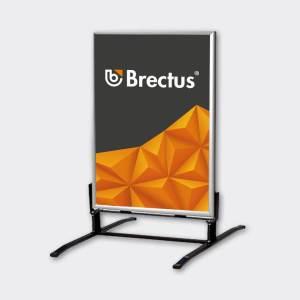 Brectus Pavement Board Wind-Sign Alu