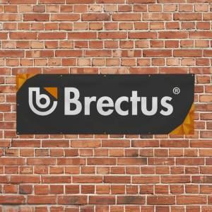 Reklame banner på væg fra Brectus