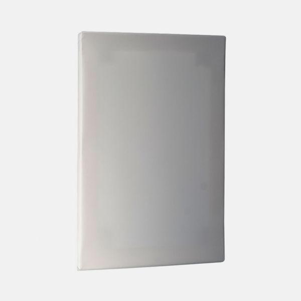 Blindramme og print på lærred blank fra perspektiv