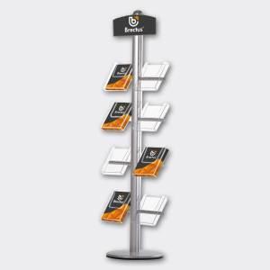 Brochurestativ Multi-Stand m/logoplade fra Brectus