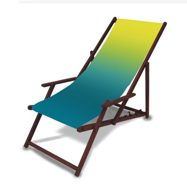 Strandstol med tryk 1