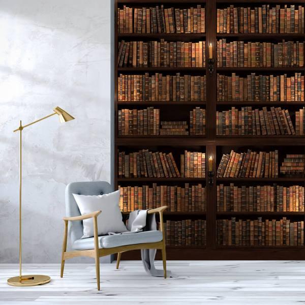 Fototapet til Allrom - Motiv Bøger