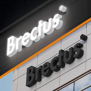 Brectus Kategorier - Lysskilt