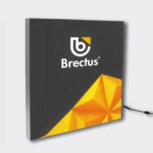 Alu LED Ramme fra Brectus