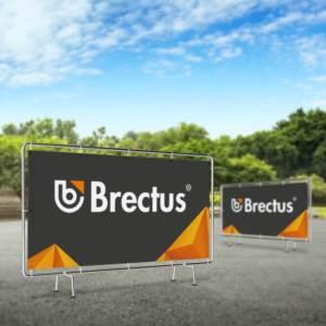 Banner til gjerde fra Brectus