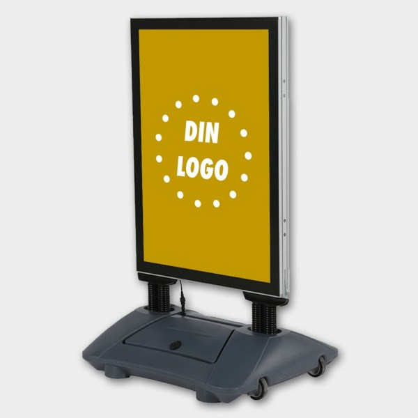 LED gatebukk, gatebukk med lys, gatebukk med batteri