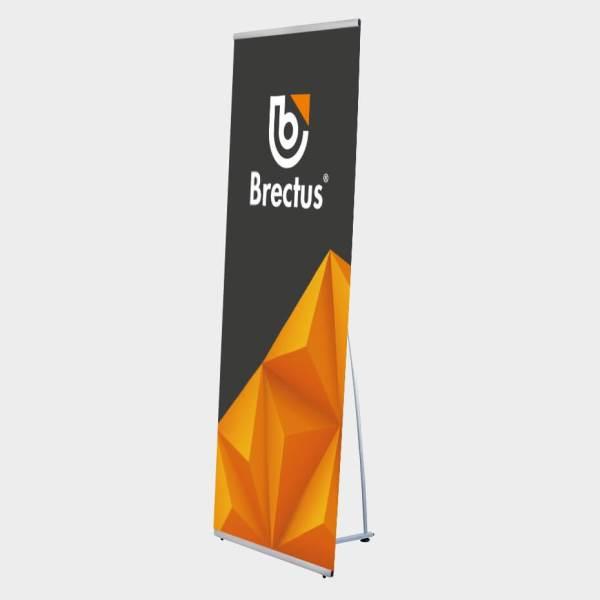 portabelt system, banner, L-banner stand, portablet systemet, l banner