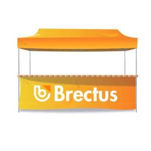 Brectus Messetelt kiosktelt salgstelt idrettstelt