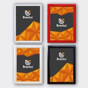 Plakatramme med klemlist 25mm fra Brectus