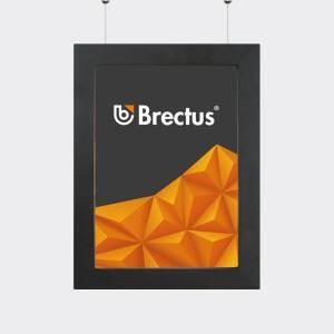 Plakatramme med LED fra Brectus