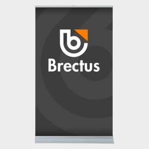 Brectus Giant Roller Banner Double-Sided