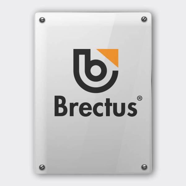 Folie på plexiglass fra Brectus