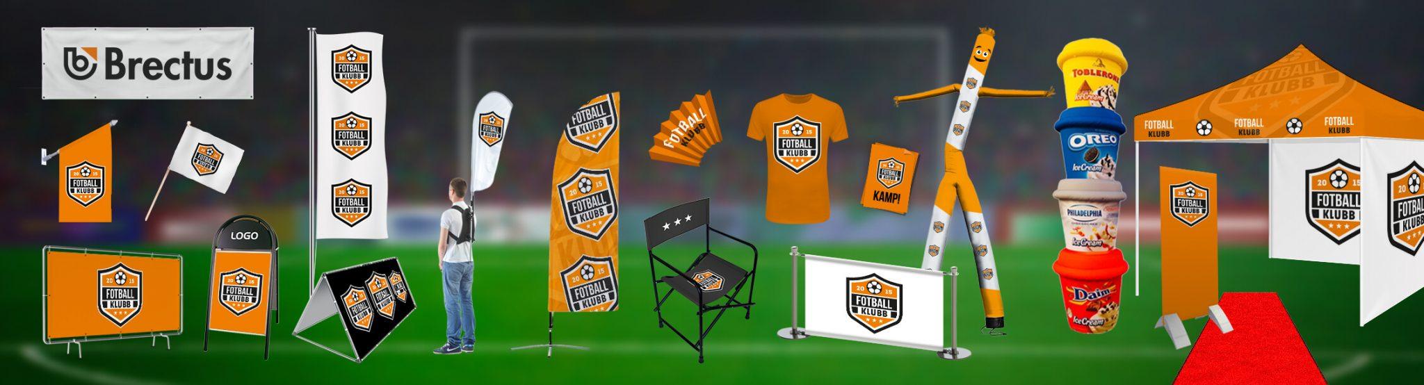 Fotball Brectus Arena Reklame