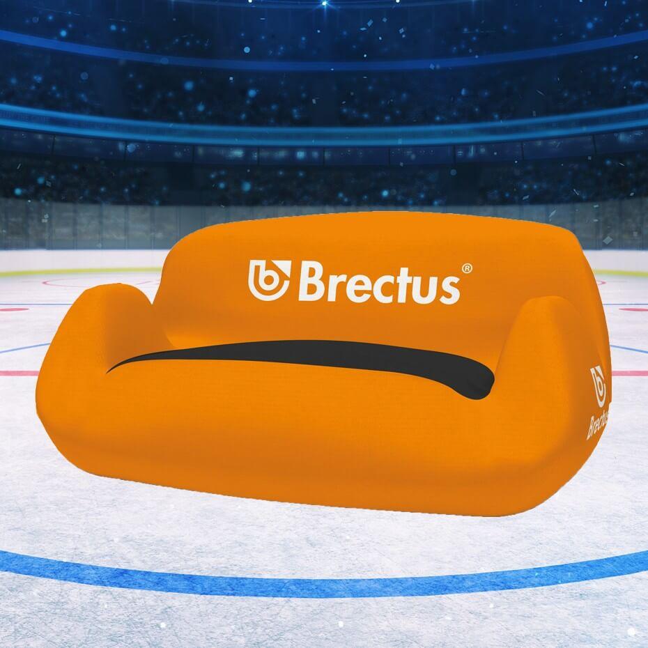 Reklamemøbler i hockey miljø