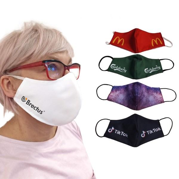 Munnbind med trykk, munnbind med logo, tøymunnbind, microfiber munnbind, ansiktsmaske, giveaways, smittevern, stoffmunnbind, munnbind-5
