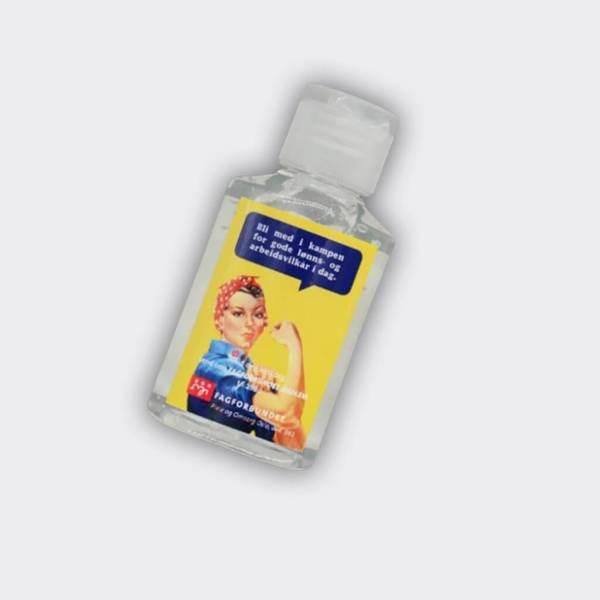Antibakteriell Håndvask Håndsprit 50ML flaske med logo